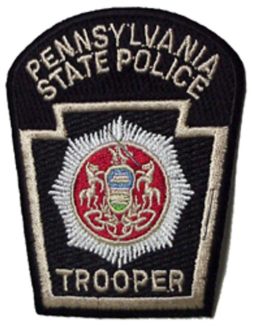 PENN. STATE POLICE TROOPER PATCH 3 INCH