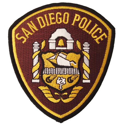 CA San Diego Police Shield Patch
