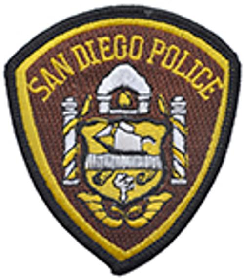 SAN DIEGO POLICE PATCH