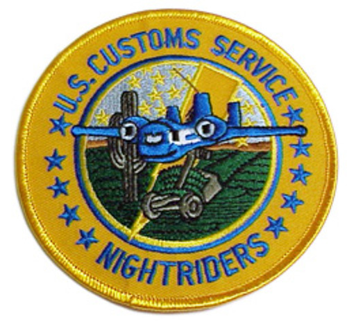 "US CUSTOMS SERVICE ""NIGHTRIDERS"""