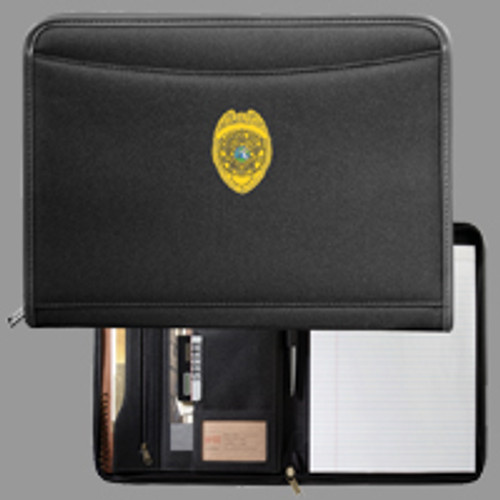 Miami-Dade Police Black Northwest Padfolio