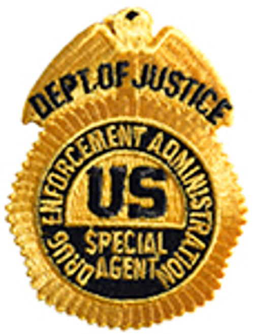 DEA Special Agent Badge