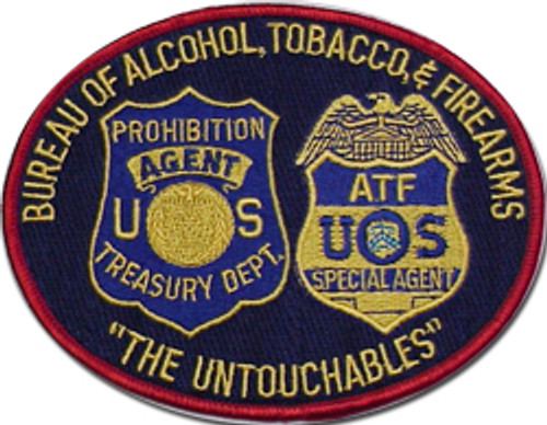 """ATF Combo Patch """"The Untouchables"""""""