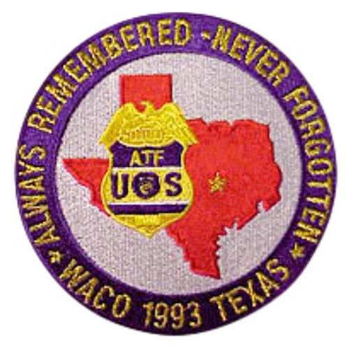 ATF Waco Patches
