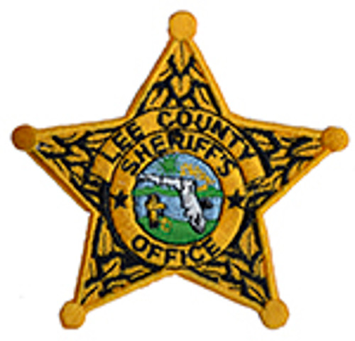 LEE COUNTY SHERIFF'S DEPARTMENT BADGE PATCH