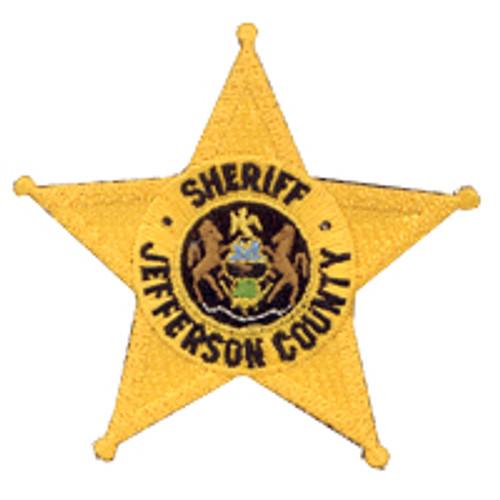 Jefferson County Sheriff Star Patch