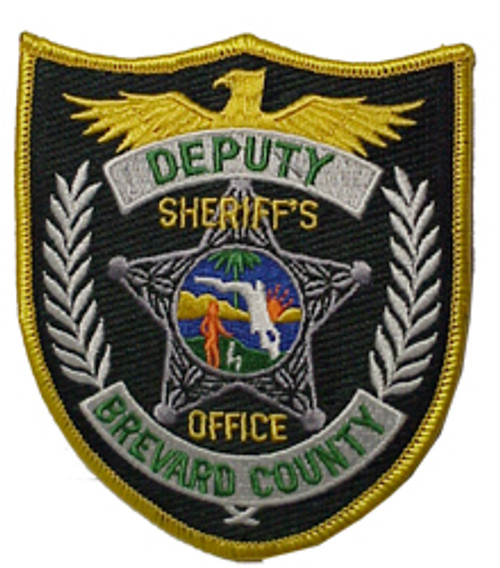 "BREVARD COUNTY SHERIFF 4"" PATCH"