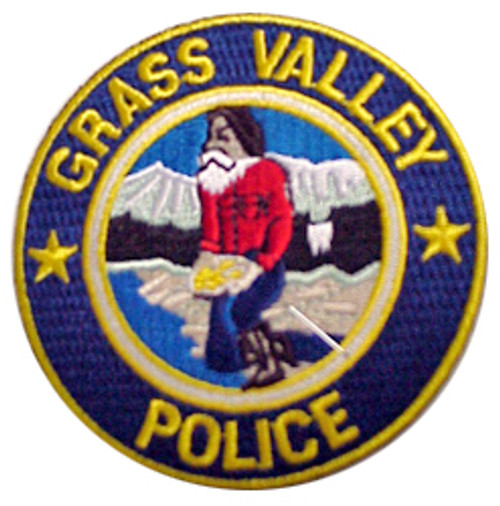 Grass Valley California Police Patch