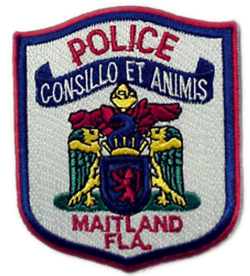 "Maitland Florida Police Patch 3"""