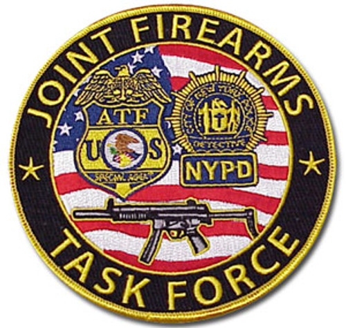 """ATF Joint Firearms Task Force Patch 5"""""""