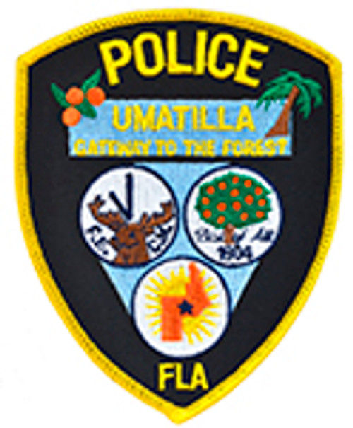 UMATILLA FLORIDA POLICE PATCH