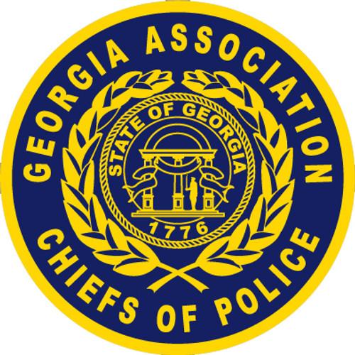 Georgia Association Chiefs of Police 3 Inch Patch