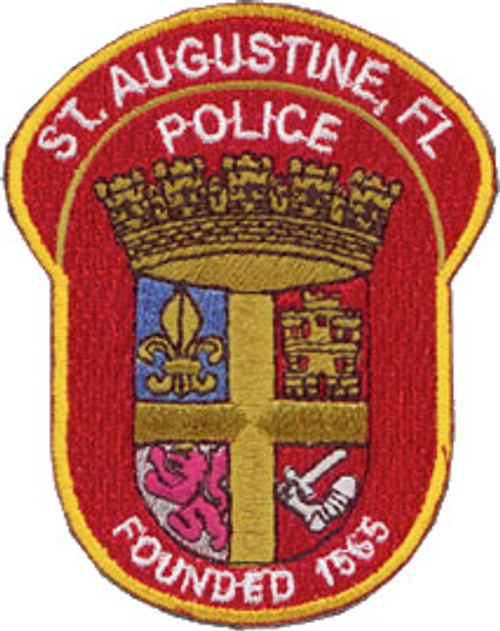 St. Augustine Police Patch