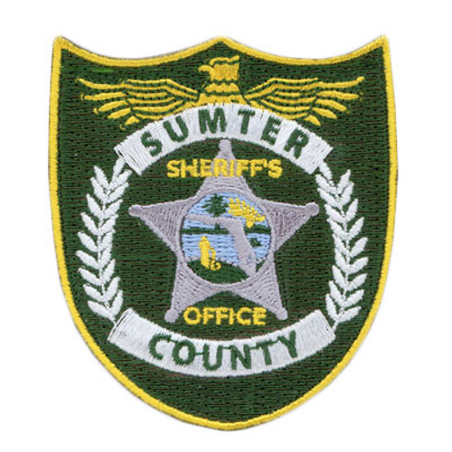 Sumter County Sheriff's Office 3 inch Patch