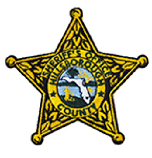 HILLSBOROUGH COUNTY SHERIFF'S OFFICE BADGE PATCH