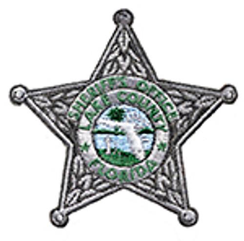 LAKE COUNTY FLORIDA SHERIFF'S STAR PATCH