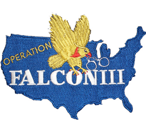 4 inch FALCON III Laser Cut Patch