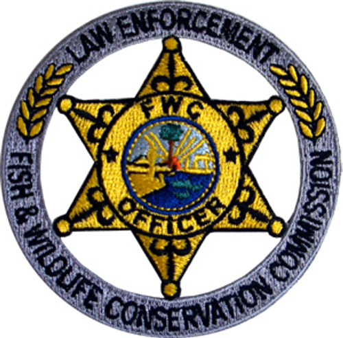 FL Fish & Wildlife Conservation Commission Badge Patch