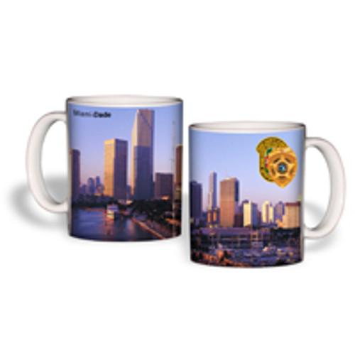 Miami-Dade Police Department Miami Skyline Mug