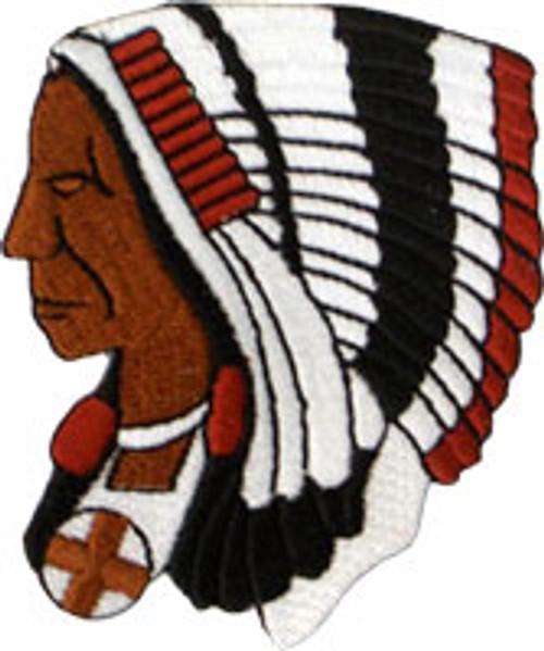 Shiawassee County Sheriff's Indian Head Patch