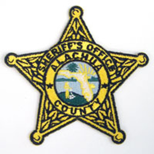Alachua County Sheriff's Office Gold Star Patch