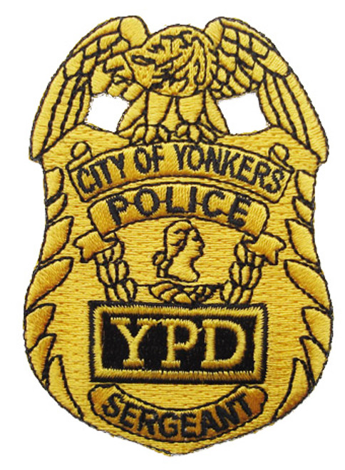 Yonkers PD Sergeant Patch