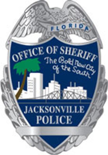 Jacksonville Silver Badge Plaque