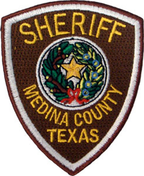 Medina County Sheriff's Badge Patch