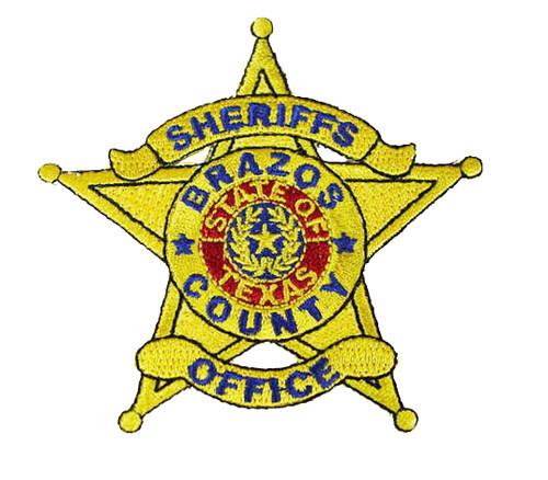 Brazos County Sheriff`s Office Patch