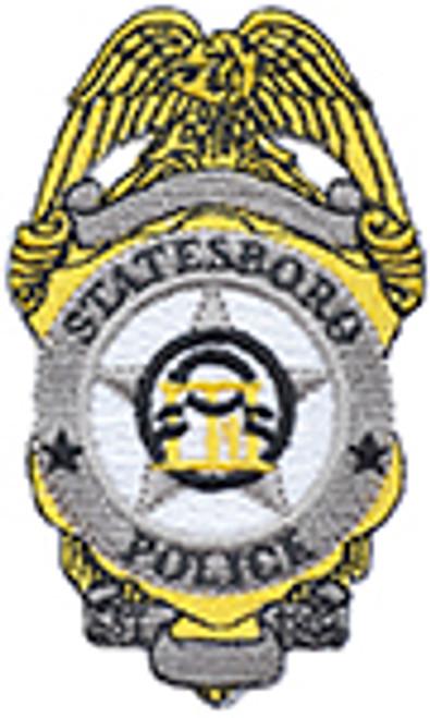 STATSBORO POLICE BADGE PATCH