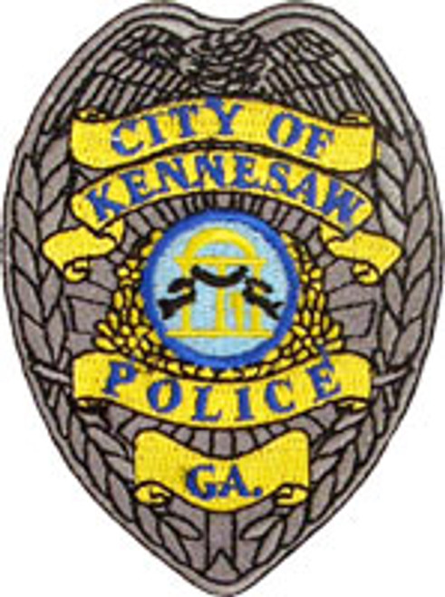 Kennesaw Police Badge Patch