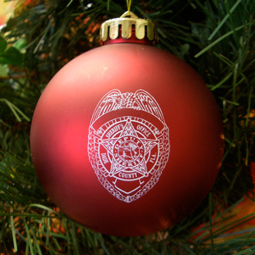 Miami Dade Police Department Ornament