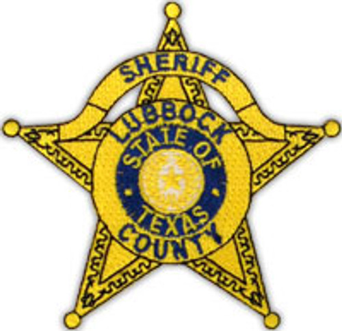 Lubbock County Star Patch