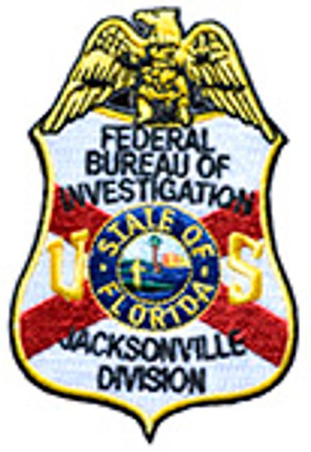 FBI JACKSONVILLE DIVISION PATCH