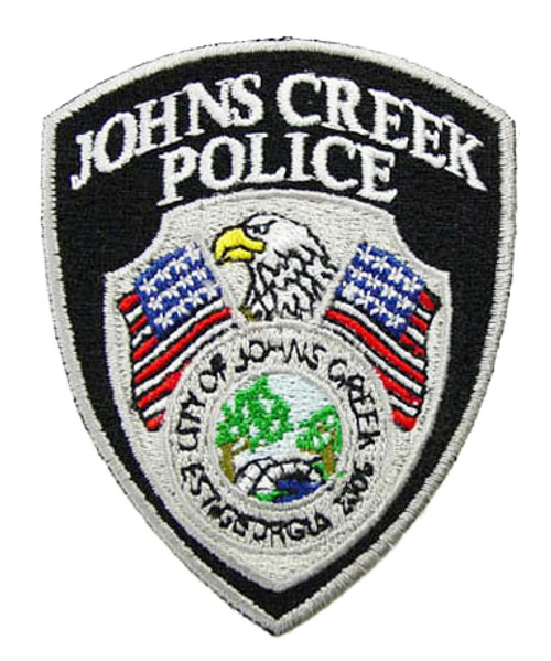 Johns Creek Police Patch (Small)