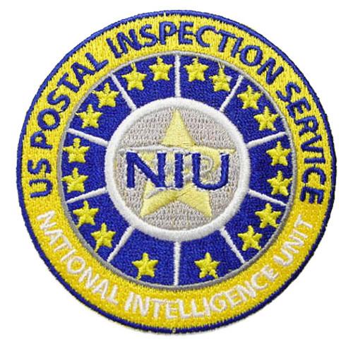 USPS National Intelligence Unit Patch