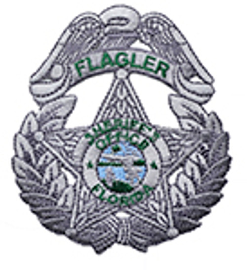 Flagler County Sheriff's Office Silver  Star Patch