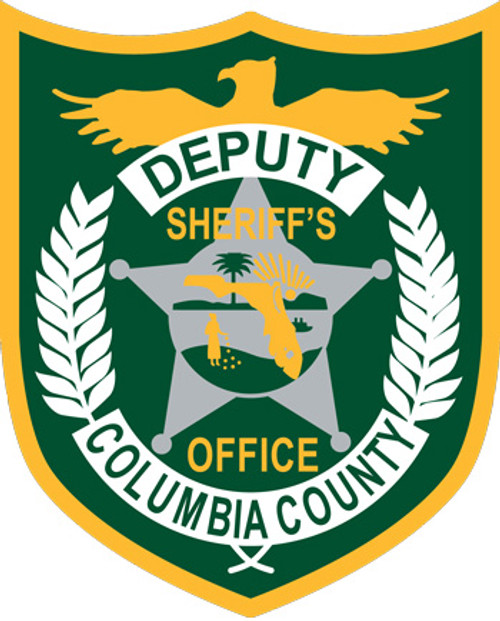 Columbia County Sheriff's Badge Patch