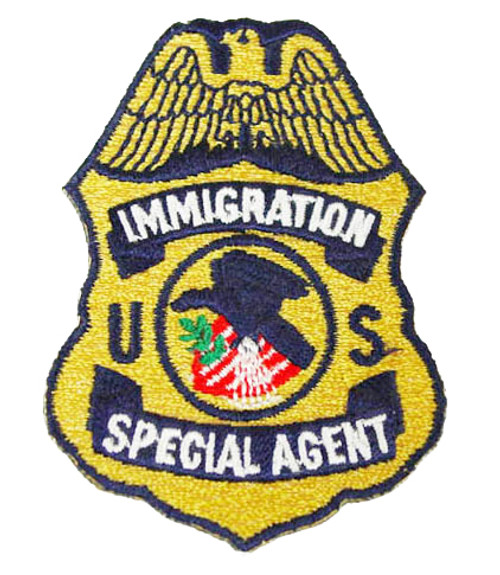 Immigration Special Agent Patch