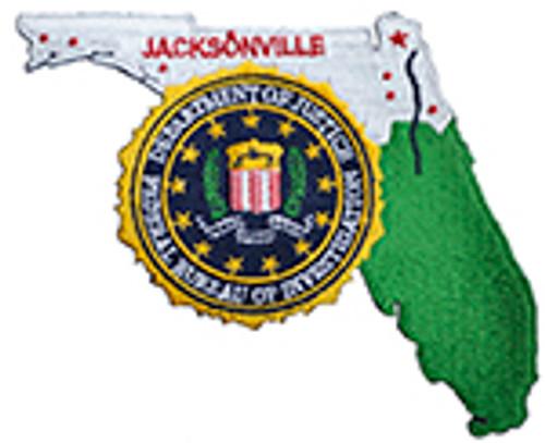FBI, JACKSONVILLE DIVISION PATCH