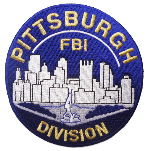 FBI Pittsburgh Division Patch
