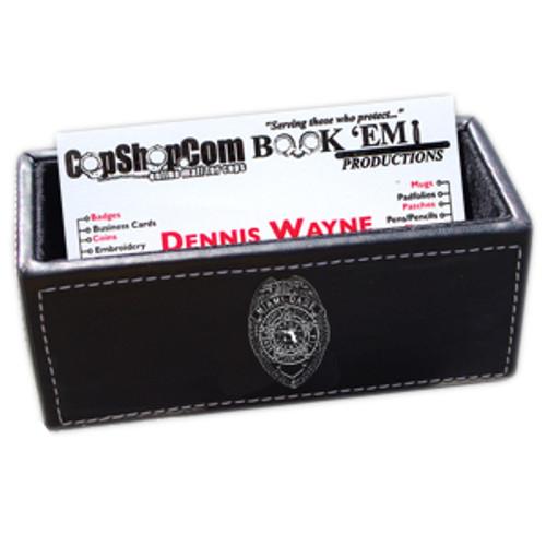 Miami-Dade Police Department Westport Business Card Holder