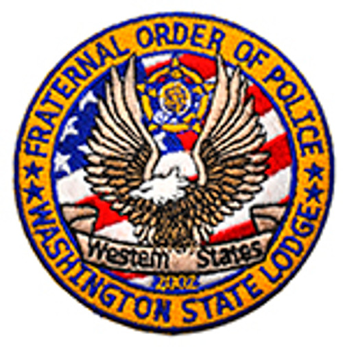 Fraternal Order of Police - Washington State Lodge Patch