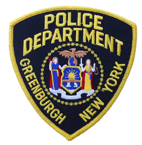 NY Greenburg Police Department Patch