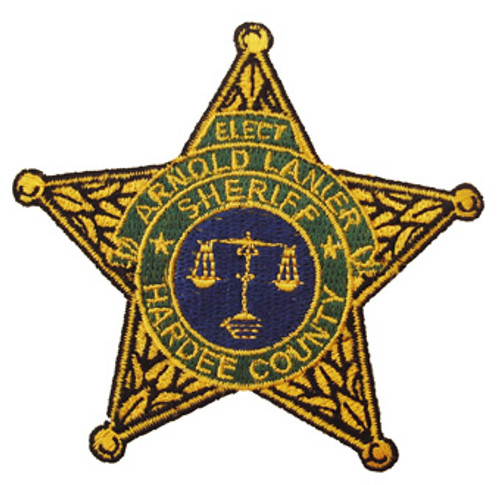 Hardee County 'Elect Sheriff Arnold Lanler' Star Patch