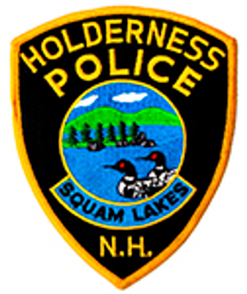 Holderness New Hampshire Police Patch