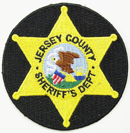 Jersey County Sheriff`s Dept. Patch