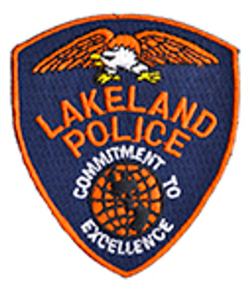 Lakeland Police Patch