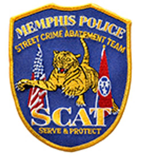 MEMPHIS POLICE SCAT PATCH