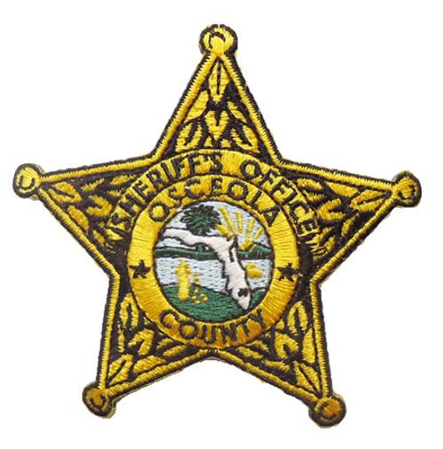 OCSO Star Patch (Osceola County)